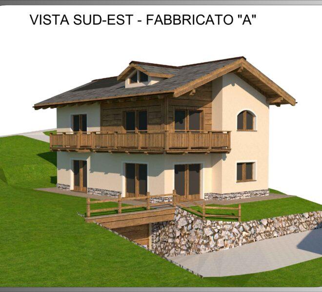 03.1 Vista Sud-Est - Fabbricato A